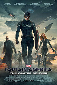 Captain America: The Winter Soldier 3D poster