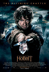 The Hobbit: The Battle of the Five Armies 3D poster