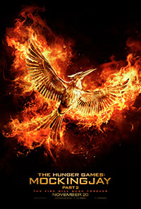 The Hunger Games: Mockingjay - Part 2 3D poster