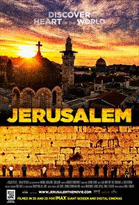Jerusalem 3D poster