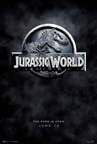 Jurassic World 3D poster