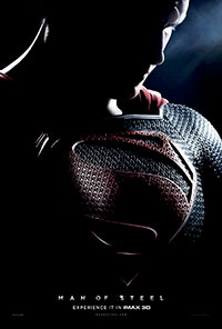 Man of Steel 3D poster