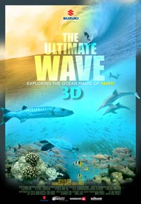 The Ultimate Wave Tahiti 3D poster
