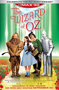 The Wizard of Oz 3D poster